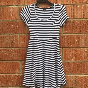 Torrid striped dress size 1